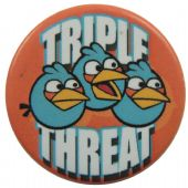 Angry Birds - 'Triple Threat' Button Badge